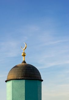 Free Mosque On Sunrise Royalty Free Stock Image - 432396