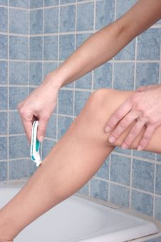 Free Shaving Legs 2 Stock Photo - 433430