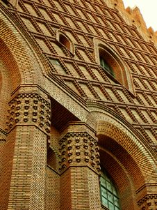 Free Magnificant Brick Building Royalty Free Stock Images - 434689