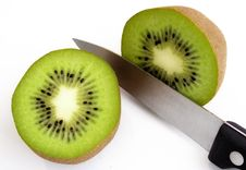 Free Sliced Kiwi Fruit Royalty Free Stock Photography - 435817