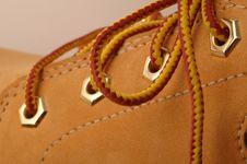 Free Boot Detail Royalty Free Stock Image - 436736