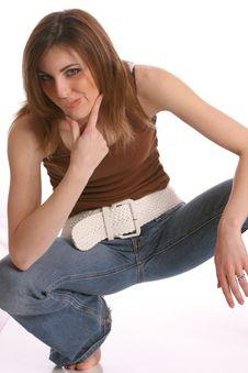 Free Belt Girl1 Stock Photo - 436860