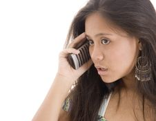 Free Telephone Frustration Royalty Free Stock Image - 437466