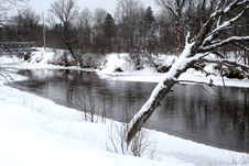 Free Winter River Stock Images - 438554