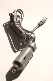 Free Cigarette Lighter Power Cord Stock Photo - 438690