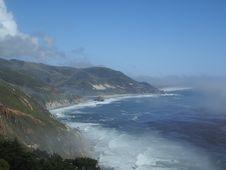 Free Misty Coast Line Stock Photos - 439033