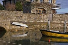 Free Boats At Quayside Stock Photo - 439340