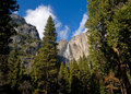 Free Waterfall In Yosemite National Park Royalty Free Stock Image - 4302396