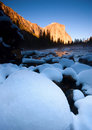 Free El Capitan And Merced River Stock Photography - 4303092