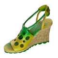 Free Shoe-Flowers (miniatures) Series Royalty Free Stock Photography - 4305207