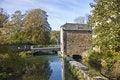 Free Autumn. House On A Bridge. Royalty Free Stock Image - 4309156
