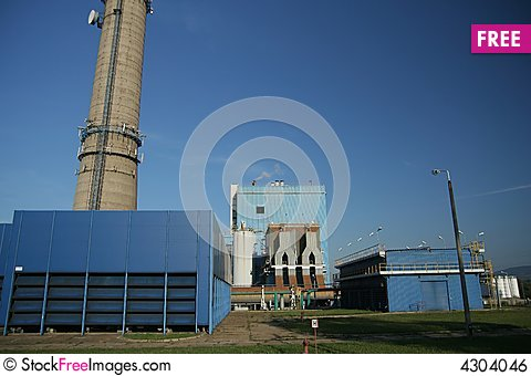 Free Heat And Power Plant Royalty Free Stock Image - 4304046