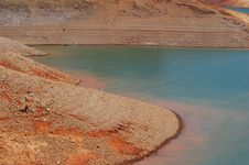 Free Mineral Deposits At Lake Shasta Stock Photos - 4300133