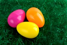 Free Colorful Easter Eggs Royalty Free Stock Images - 4300319