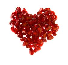 Free Ruby Heart Stock Images - 4300834