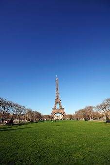 Free The Eiffel Tower Stock Images - 4301024