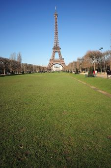 Free The Eiffel Tower Stock Photography - 4301052