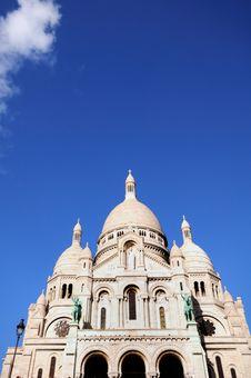 Free Beautiful Sacre Coeur In Paris Royalty Free Stock Images - 4301069