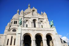 Beautiful Sacre Coeur In Paris