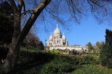 Free Beautiful Sacre Coeur In Paris Royalty Free Stock Photos - 4301128