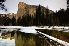 Free El Capitan And Merced River Royalty Free Stock Image - 4301226