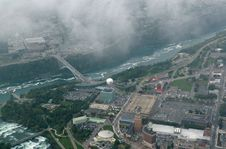 Free Niagara Falls From The Sky Stock Photo - 4301570