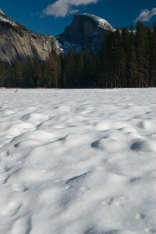 Free Half Dome And Frozen Meadows Royalty Free Stock Photos - 4301638