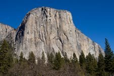 Free El Capitan In Yosemite National Park Royalty Free Stock Photos - 4302268
