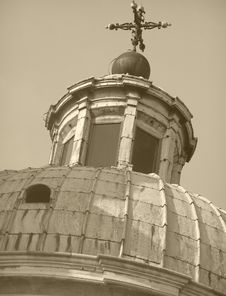 Free Church Cupola Stock Image - 4302321
