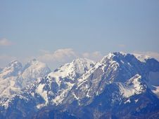Free Mountains In Winter Stock Photo - 4302330