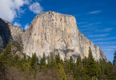 Free El Capitan In Yosemite National Park Stock Image - 4302371