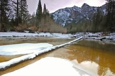 Free El Capitan And Merced River Stock Photos - 4302493