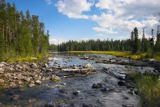 Free Inlet To String Lake Stock Photography - 4302952