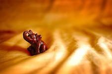 Free Elephant On Dunes Stock Image - 4302971