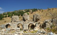 Free Ancient Ruins In Ephesus Royalty Free Stock Photos - 4303348