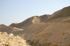 Free Arava Desert - Dead Landscape, Background Royalty Free Stock Image - 4303556