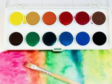 Free Water Colors Composition Stock Image - 4303671