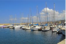 Free A Row Of Boats Stock Images - 4303704