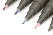 Free Colored Soft-tip Pen Macro Royalty Free Stock Photos - 4303768