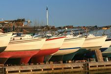 Free Boat Yard Royalty Free Stock Photos - 4305108