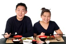 Asian Food. Royalty Free Stock Images