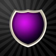 Free Violet Icon Royalty Free Stock Image - 4305386