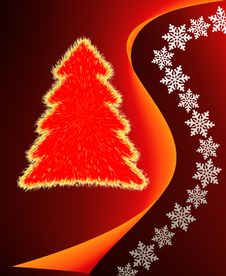 Free Christmas Tree Royalty Free Stock Photography - 4305477
