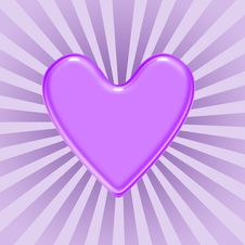 Free Purple Heart Royalty Free Stock Images - 4305499