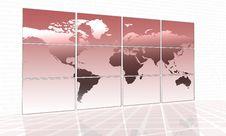 Free World Map Stock Photo - 4305820