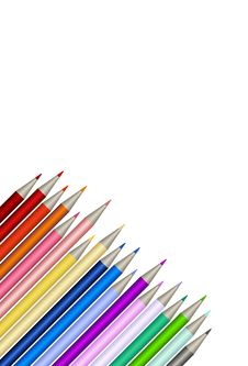 Free Pencils Royalty Free Stock Photography - 4305927