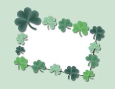 Free Shamrock Card Royalty Free Stock Image - 4306066