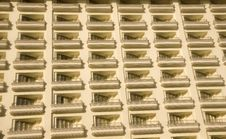 Free Rows Of Balconies Stock Images - 4306304