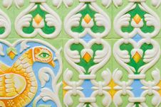 Free Ceramic Tile Ornament Stock Photos - 4306543