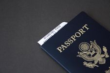 Free Passport And Boarding Pass Stock Image - 4307051